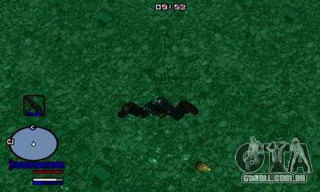 C-HUD Normal para GTA San Andreas segunda tela