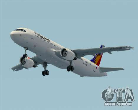 Airbus A320-200 Philippines Airlines para GTA San Andreas