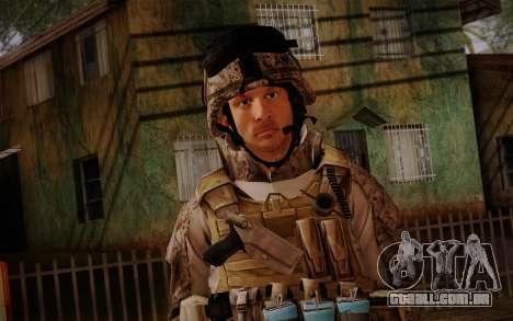 Campo from Battlefield 3 para GTA San Andreas terceira tela