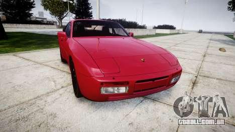 Porsche 944 Turbo 1989 para GTA 4