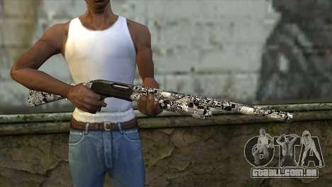 Novo Tiro De Espingarda para GTA San Andreas terceira tela