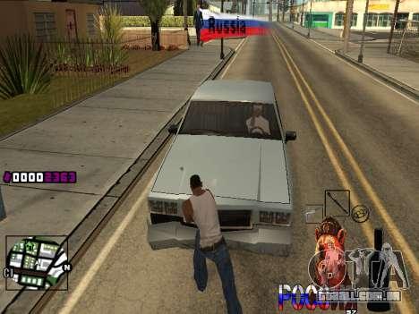 C-HUD RussiA para GTA San Andreas segunda tela