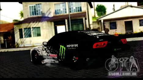 Nissan 180SX Monster Energy para GTA San Andreas esquerda vista