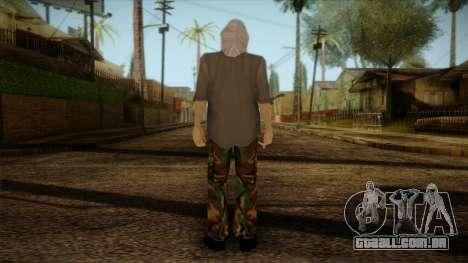 Varg Vikernes Skin para GTA San Andreas segunda tela
