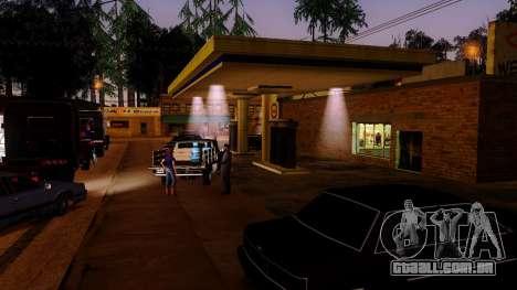 Recuperação de estações de Los Santos para GTA San Andreas quinto tela