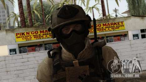 Modern Warfare 2 Skin 15 para GTA San Andreas terceira tela