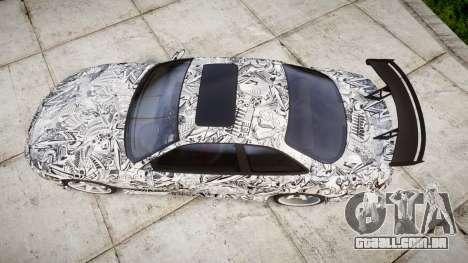 Lexus SC300 1997 Sharpie para GTA 4 vista direita