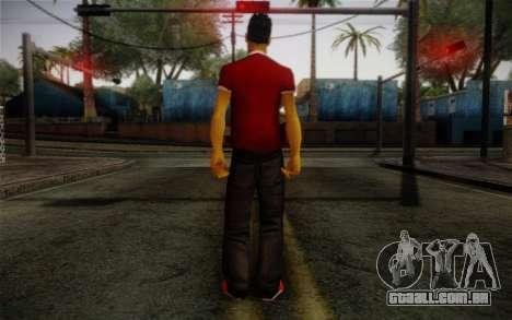 Ginos Ped 32 para GTA San Andreas segunda tela