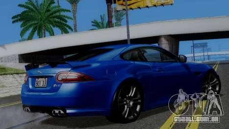 ENBSeries para PC fraco v4 para GTA San Andreas terceira tela