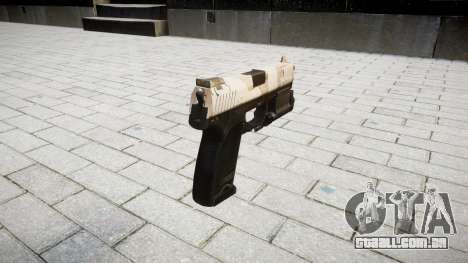Pistola HK USP 45 nevada para GTA 4 segundo screenshot