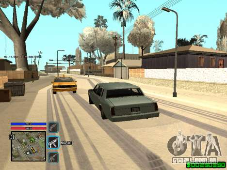 C-HUD Only Ghetto para GTA San Andreas sexta tela