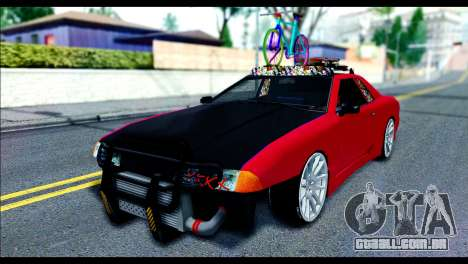 Elegy Slammed para GTA San Andreas esquerda vista