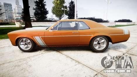 Declasse Tampa 1976 v2.0 para GTA 4 esquerda vista