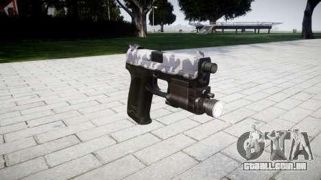Pistola HK USP 45 sibéria para GTA 4