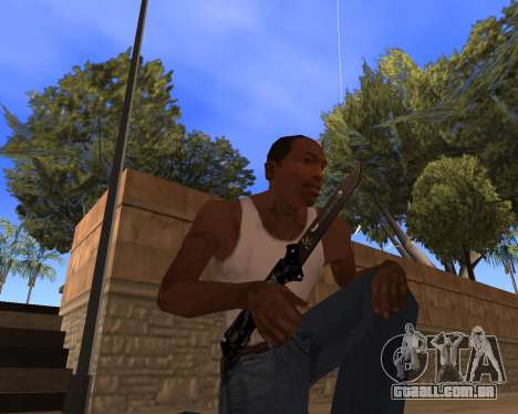 Hitman Weapon Pack v1 para GTA San Andreas terceira tela
