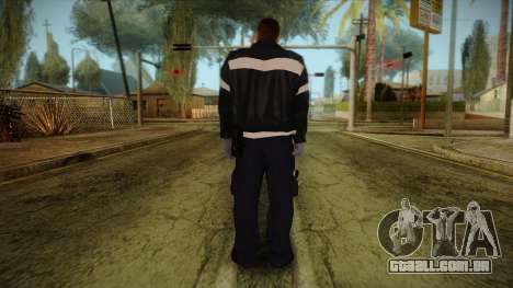 GTA 4 Emergency Ped 12 para GTA San Andreas segunda tela