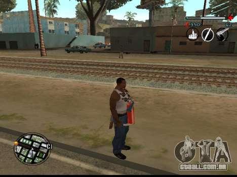 C-HUD Good para GTA San Andreas segunda tela