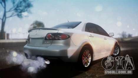 Mazda 6 MPS para GTA San Andreas esquerda vista