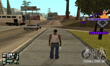 C-HUD King Of Detroit para GTA San Andreas segunda tela