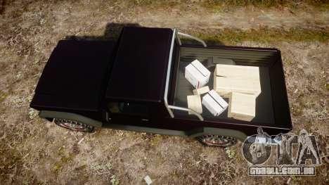 Senran Pioneer Pickup para GTA 4 vista direita