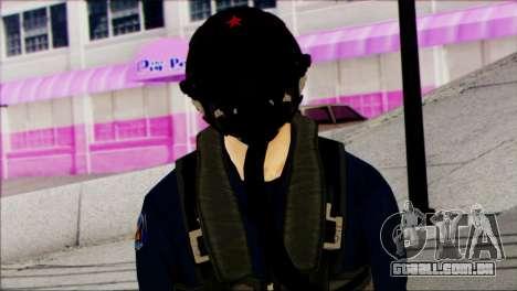 Chinese Jet Pilot from Battlefield 4 para GTA San Andreas terceira tela