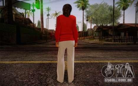 Ginos Ped 8 para GTA San Andreas segunda tela