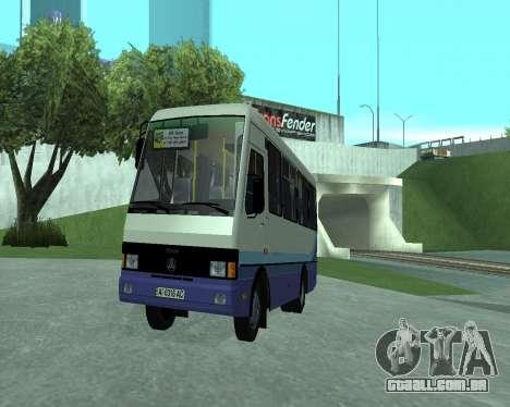 BANCOS de dados de UM Turista para GTA San Andreas