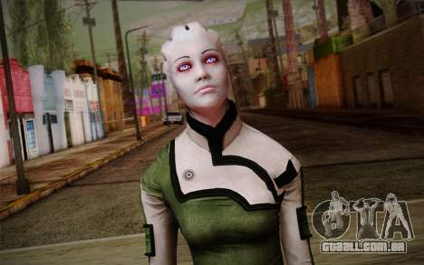 Liara T Soni Scientist Suit from Mass Effect para GTA San Andreas terceira tela