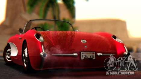 Chevrolet Corvette C1 1962 para GTA San Andreas esquerda vista