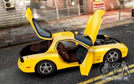 Mazda RX-7 1997 FD3s [EPM] para GTA 4 esquerda vista