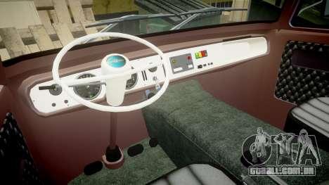 Barkas B1000 1961 para GTA 4 vista direita