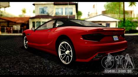 GTA 5 Hijak Khamelion IVF para GTA San Andreas esquerda vista