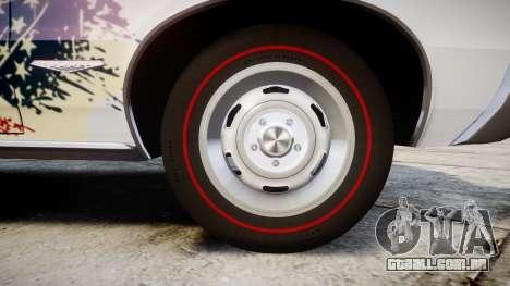 Pontiac GTO 1965 united para GTA 4 vista de volta