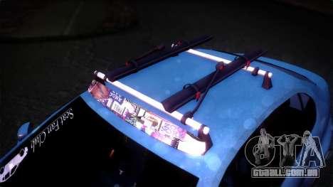 Seat Toledo Stance 2002 para GTA San Andreas traseira esquerda vista