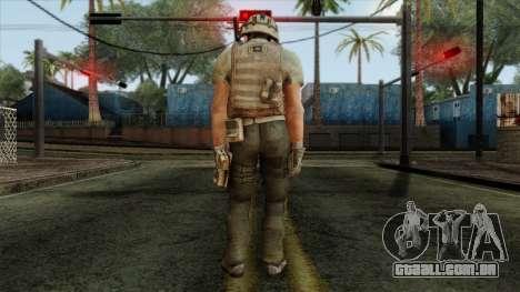 Modern Warfare 2 Skin 13 para GTA San Andreas segunda tela