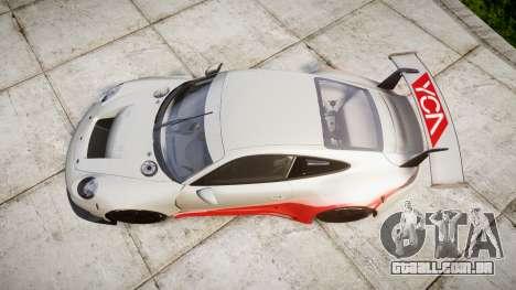 RUF RGT-8 GT3 [RIV] YCA para GTA 4 vista direita