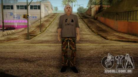 Varg Vikernes Skin para GTA San Andreas