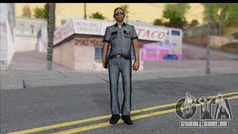 GTA San Andreas Beta Skin 5 para GTA San Andreas