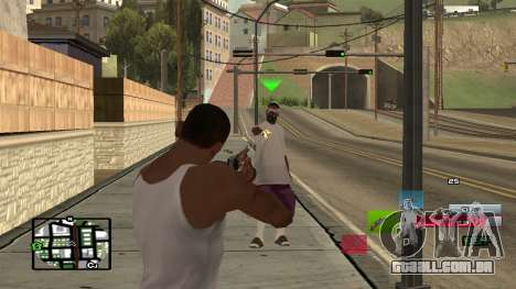 C-HUD by SampHack v.19 para GTA San Andreas segunda tela