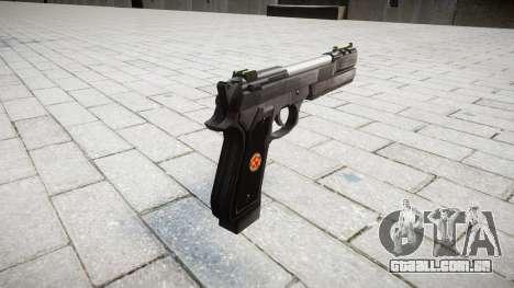 Пистолет Beretta M92 Samurai Edge S.T.A.R.S. para GTA 4 segundo screenshot