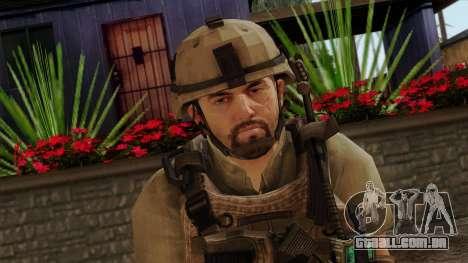 Modern Warfare 2 Skin 13 para GTA San Andreas terceira tela