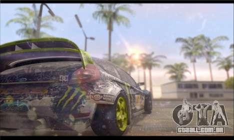 Corsar PayDay 2 ENB para GTA San Andreas por diante tela