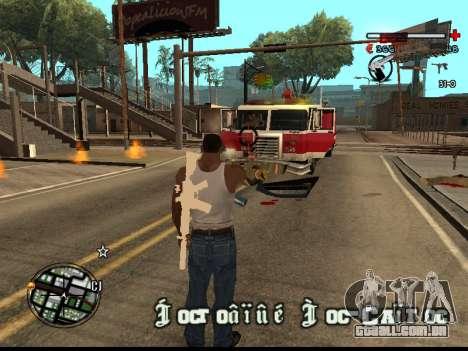 C-HUD Good para GTA San Andreas por diante tela