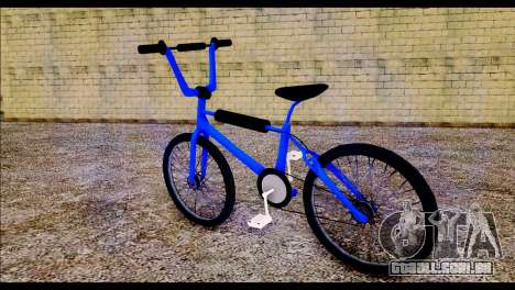 New BMX Bike para GTA San Andreas esquerda vista
