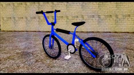 New BMX Bike para GTA San Andreas esquerda vista