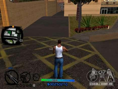C-HUD COOL para GTA San Andreas segunda tela
