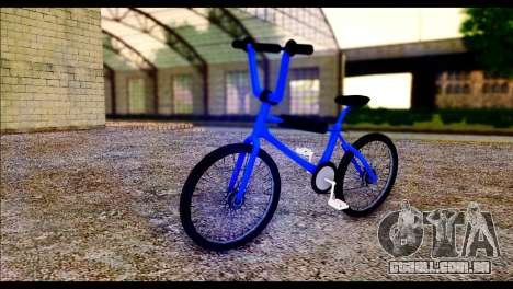 New BMX Bike para GTA San Andreas