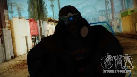 Super Soldier from Prototype 2 para GTA San Andreas terceira tela