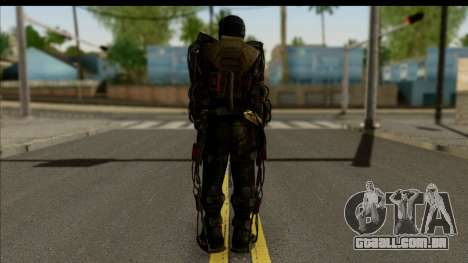 Stalkers Exoskeleton para GTA San Andreas segunda tela