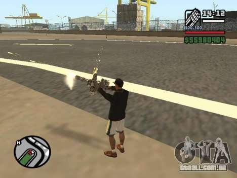 Dupla de posse de todas as armas para GTA San Andreas sexta tela